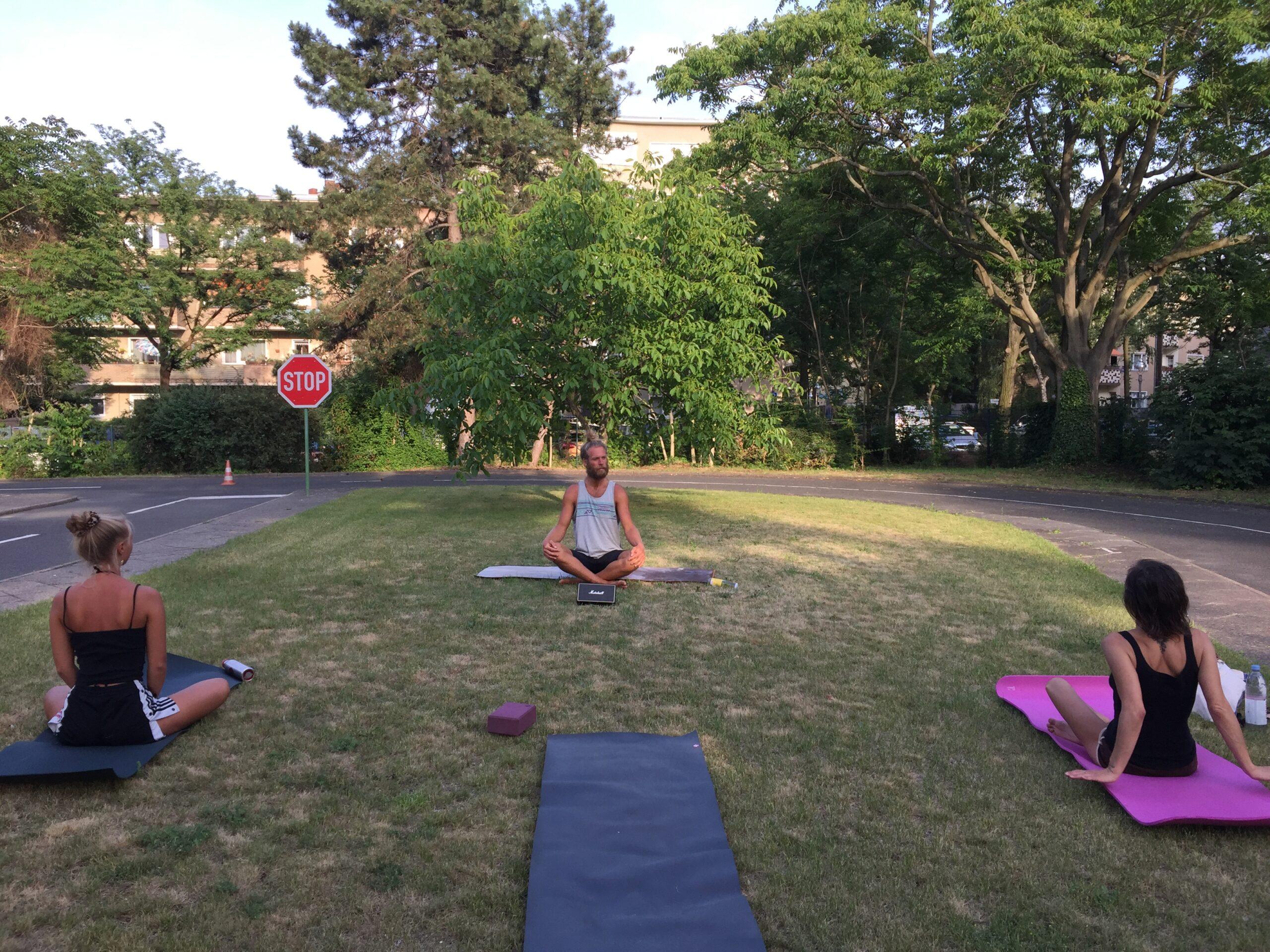 Neu: Yoga in Rixdorf