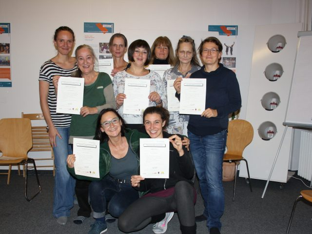 Die neuen Kieztrainerinnen in Neukölln