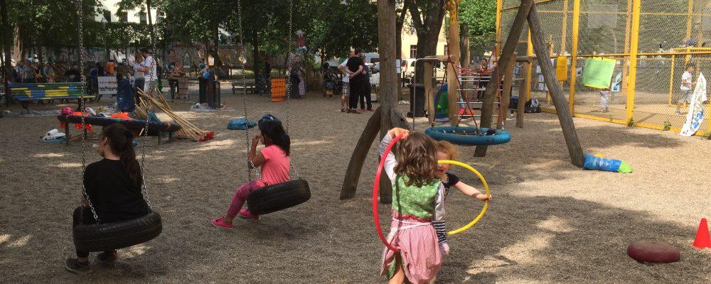 Spielplatzfest Naunynstraße