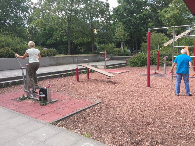 Fitnesstreff für alle in Gropiusstadt