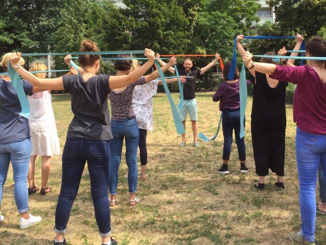 Nachbarschafts-Trainings starten