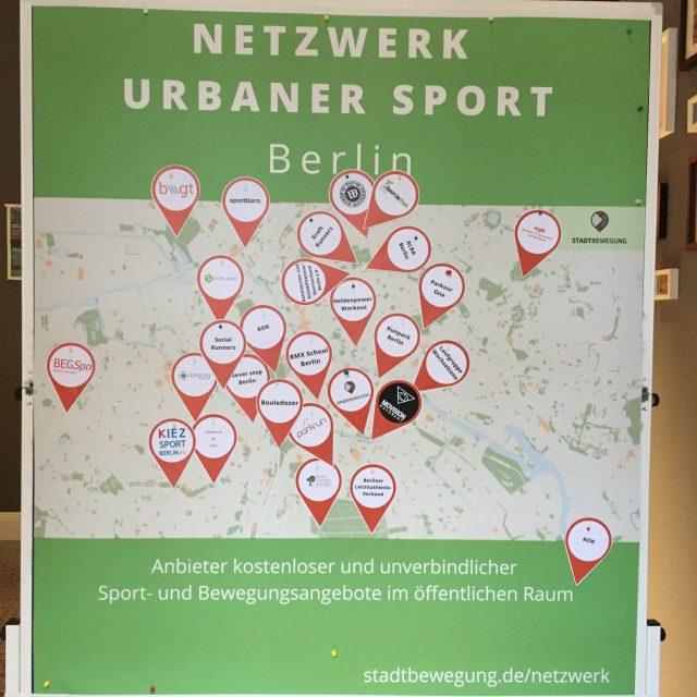 Konferenz Urban Sport & Health